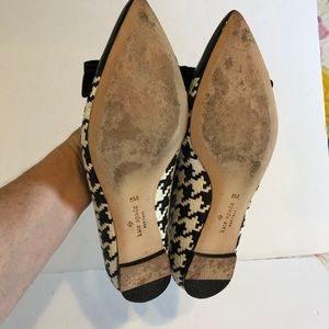 kate spade Shoes - Kate Spade New York 8M Hounds Tooth  Ballet Flats